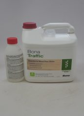 Bona Traffic Waterborne Wood Floor Finish Commercial Gloss
