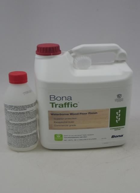 Bona Traffic Waterborne Wood Floor Finish Commercial Satin