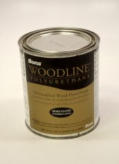 Bona Woodline Polyurethane Semi Gloss Oil Based Hardwood Floor Finish