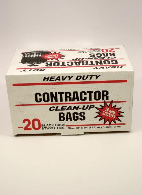 Chicago Hardwood Heavy Duty Contractor Bags Box Chicago