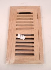 Chicago Hardwood Red Oak 4 x 10 Inch Hardwood Floor Vent with Damper