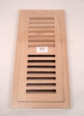 Chicago Hardwood Red Oak 4 x 12 Inch Hardwood Floor Vent with Damper