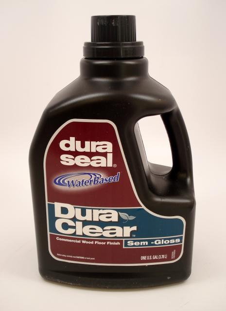 Dura Seal Duraclear Semi Gloss Water Based Commercial Wood