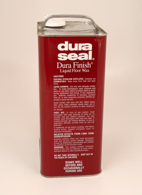 Dura Seal Durafinish Liquid Wax For Hardwood Floors