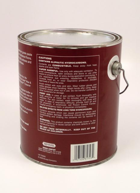 Dura Seal Paste Wax For Wood Flooring Coffee Brown 6 Pound