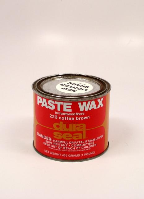 Dura Seal Paste Wax For Wood Flooring Coffee Brown Pound