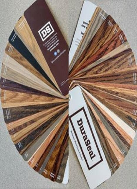 Dura Seal Stain Color Fan Deck Each Chicago Hardwood