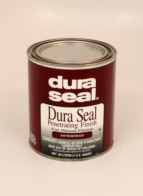 Dura Seal Penetrating Finish 239 Rosewood Hardwood