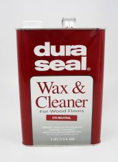Dura Seal Wax and Cleaner for Wood Flooring Neutral