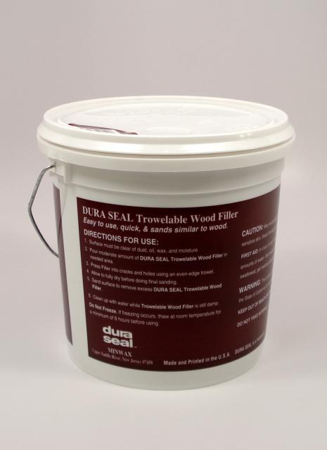 Dura Seal Walnut Trowelable Wood Filler Gallon Chicago