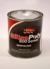 Glitsa Poly 500 Series Semi-Gloss Wood Floor Finish