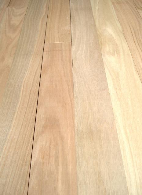 Henry county hardwoods unfinished solid red oak hardwood for Unfinished oak flooring