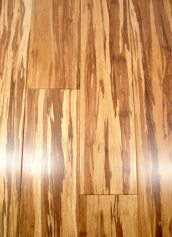 LW Mountain Hardwood Floors Solid Prefinished Tiger Strand Bamboo Flooring 6 Foot Lengths