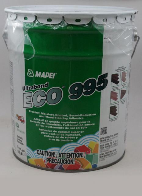 Mapei Ultrabond Eco 995 Premium Moisture Control Sound Reduction and