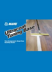 Mapei Ultracoat Toning Base Two-Component Deep-Tone Sanding Sealer