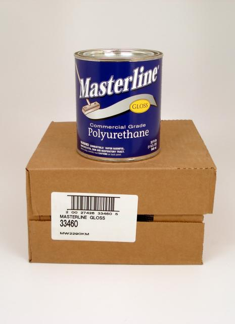 Masterline Oil Based Polyurethane Wood Floor Finish Gloss