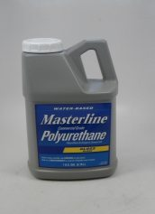 Masterline Water Based Polyurethane 1 Gallon Wood Floor Finish Gloss