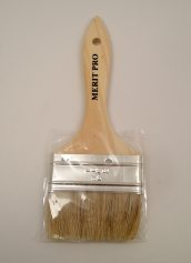 Merit Pro 3 Inch White Bristle Chip Brush 00028