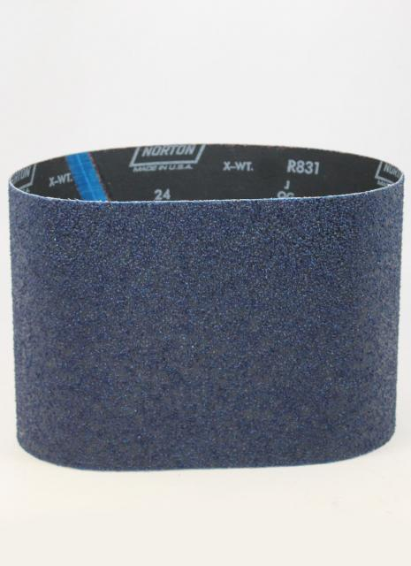 Norton Abrasives 24 Grit Blue Fire Floor Sander Belts 7 7