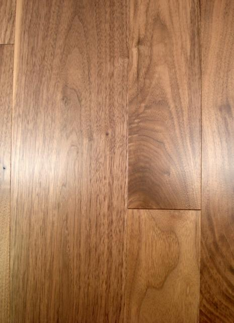 Owens flooring 5 inch american walnut select grade for Walnut hardwood flooring