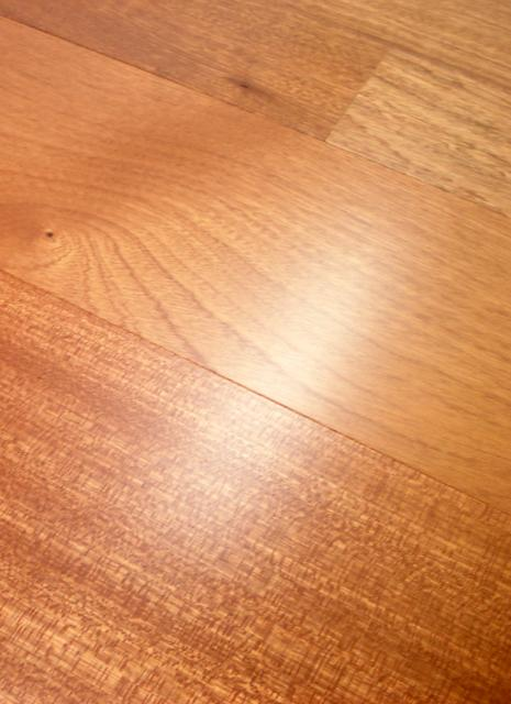Owens flooring 4 inch sapele select grade prefinished for Hardwood flooring 4 inch