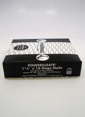 Powernail Powercleat Flooring Cleat 16 Gage 1 1/2 Inch Long - Box of 5000