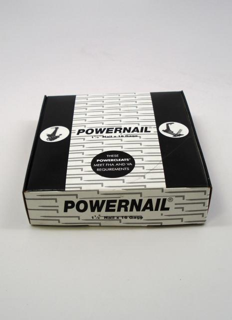 Powernail Powercleat Flooring Cleat 16 Gage 1 1 2 Inch
