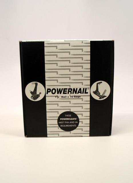 Powernail Powercleat Flooring Cleat 16 Gage 1 3 4 Inch