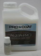 ProCoat Aqua-Pro Waterborne Wood Floor Finish Semi Gloss