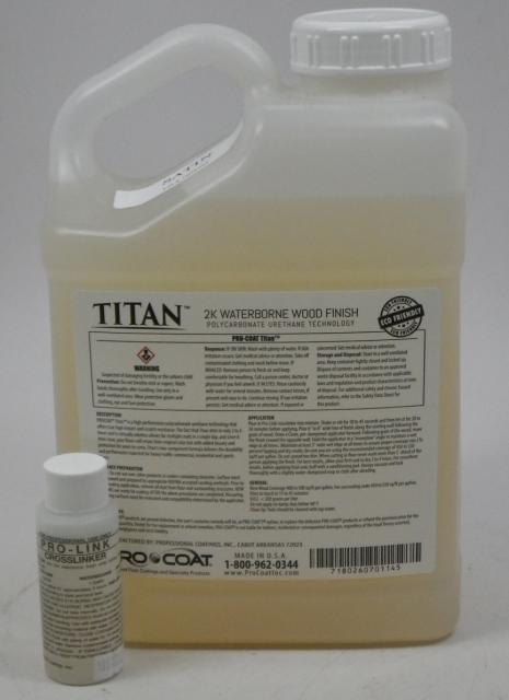 Procoat Titan Waterborne Wood Floor Finish Satin Gallon